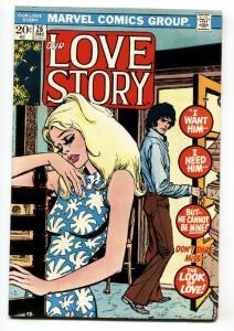 Our Love Story #26 1974-Marvel-romance stories-Gene Colan-Bill Everett-VG/FN