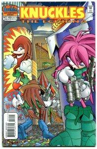 Knuckles #14 1998- Archie Comics- Sega- Echidna Sonic FN