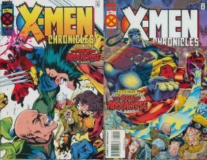 X MEN CHRONICLES (1995) 1-2  'Age of Apocalypse'