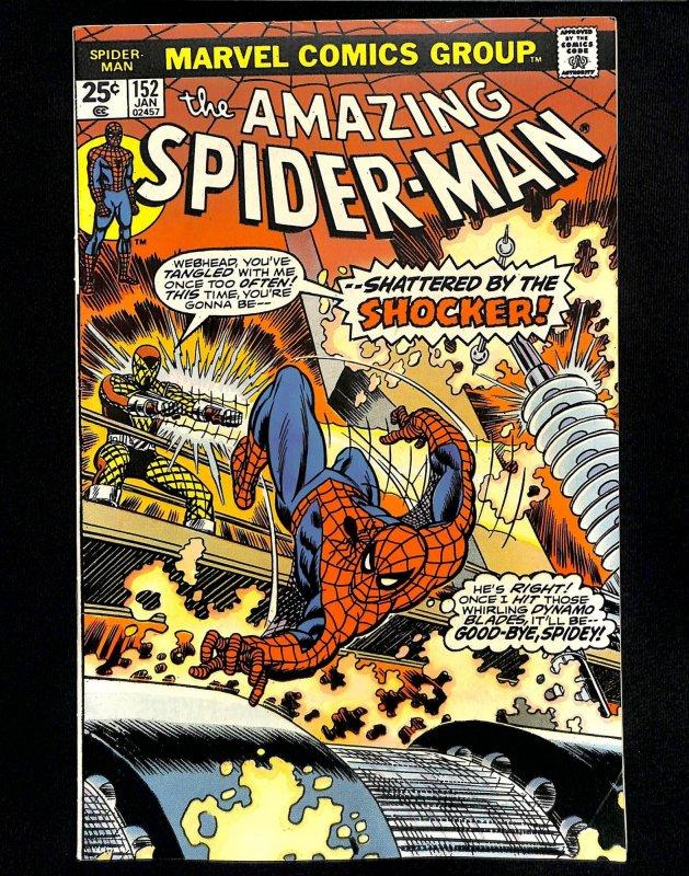 Amazing Spider-Man #152 Shocker!