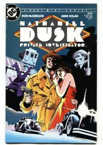 Nathaniel Dusk Private Investigator #1 First issue - 1984 DC comic book
