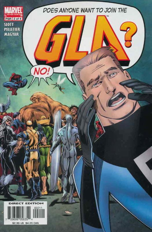 G.L.A. #2 FN; Marvel | save on shipping - details inside