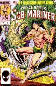Prince Namor: the Sub-Mariner #1, VF- (Stock photo)