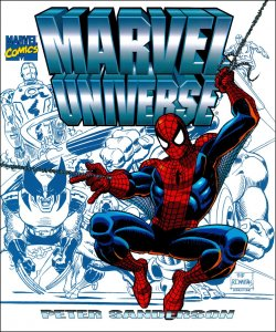 Marvel Universe by Peter Sanderson (1998, Hardcover)