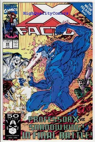 X-FACTOR #69, NM+, Whilce Portacio, Muir Island, Beast, more XF in store