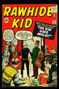 Rawhide Kid #30 1962- Jack Kirby cover- silver age Marvel- VG