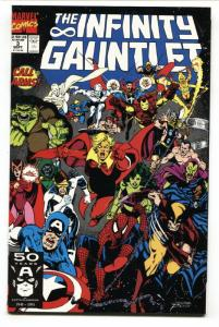 Infinity Gauntlet #3 INFINITY WAR  1991 Thanos- Warlock- George Perez- NM-