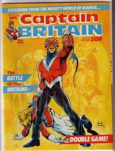 Captain Britain   vol. 2   # 5 FN