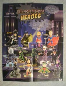 HEADSTRONG HEROES Promo Poster, 17x22, 2003, Unused, more Promos in store