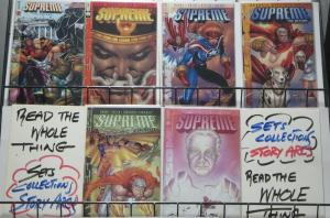 SUPREME: THE RETURN (Awesome, 1999) #1-6 VF-NM COMPLETE! Alan Moore!Liefeld!