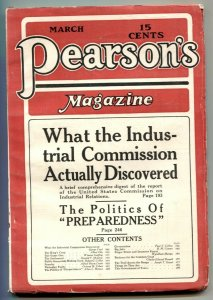 Pearson's Magazine March 1916- Fingerprints VF