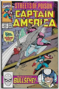 Captain America   vol. 1   #373 FN (Streets of Poison 2)