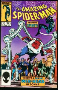AMAZING SPIDER-MAN #263-1985-MARVEL-1st Normie Osborn very fine VF