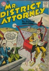 Mr. District Attorney (1948 series) #60, Fine (Stock photo)