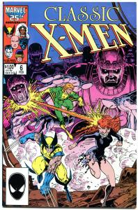CLASSIC X-MEN #6, NM, Arthur Adams, Wolverine, Storm, Sentinals, 1986