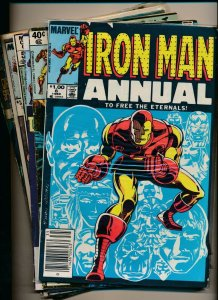 Marvel Comics Large LOT!! IRON MAN (see scans for issue #'s) FINE  (PF874)