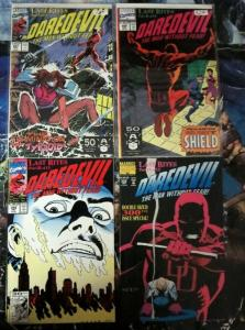 DAREDEVIL 297-300 Last Rites complete CHICHESTER/ WEEKS/ WILLIAMSON