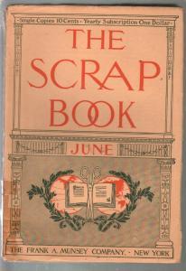 Scrap Book #4 6/1906-Munsey-Alexandre Dumas-early pulp-VG