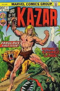 Ka-Zar (2nd Series) #1 VG; Marvel | low grade comic - save on shipping - details
