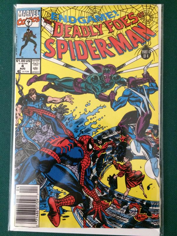 The Deadly Foes of Spider-Man #4