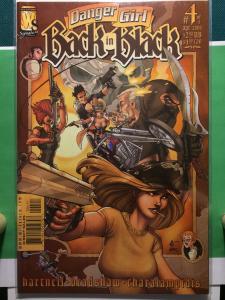 Danger Girl Back in Black #4 of 4