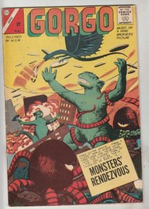 Gorgo #12 (Apr-63) FN/VF Mid-High-Grade Gorgo