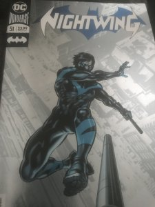 DC NightWing #51 Mint Foil cover