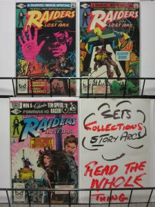 RAIDERS OF THE LOST ARK (1981) 1-3  Complete Adaptation