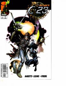 Lot Of 2 Comic Books Image C.23 #1 and Now Boy His Bot #1  MS20