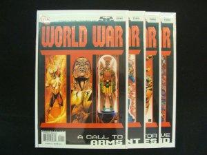 World War III #1-4 The New 52 Complete Set Run DC