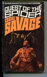 DOC SAVAGE-QUEST OF THE SPIDER-#68-ROBESON-Fred Pfeiffer COVER VG