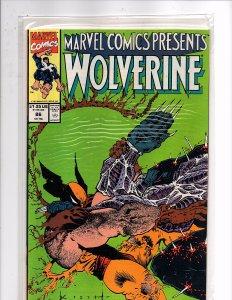 Marvel Comics (1988) Marvel Comics Presents #86 Wolverine Sam Keith Cover Beast