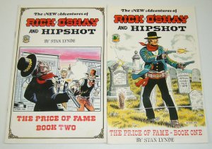 New Adventures of Rick O'Shay and Hipshot #1-2 complete series - western