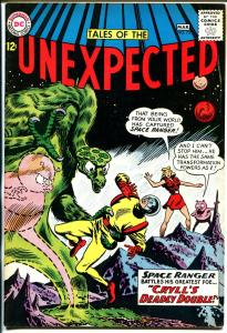 Tales of The Unexpected #75 1962-DC-Space Ranger-black cover-FN-