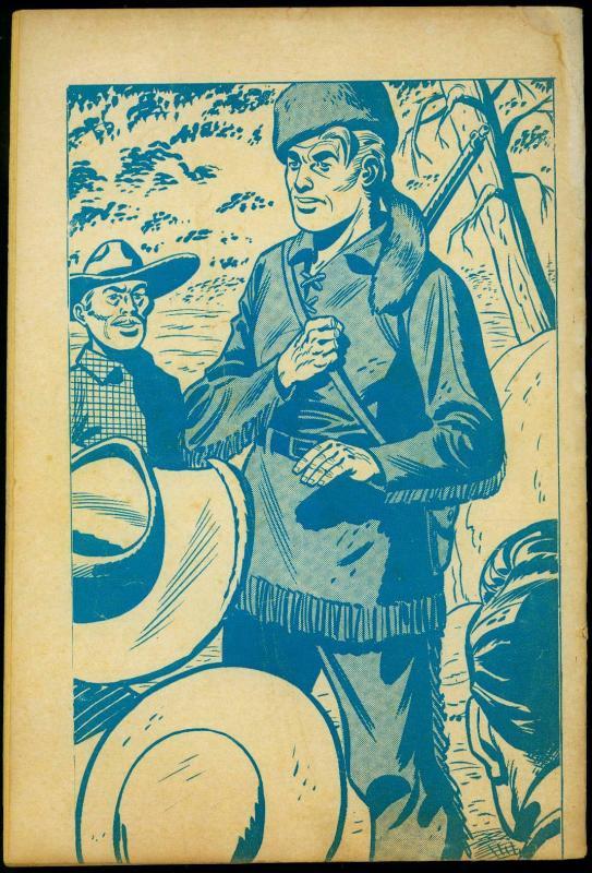 Davy Crockett Frontier Fighter #2 1955- Charlton Comics- Custer G