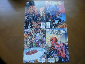 4 Near-Mint Marvel Comic: THE AMAZING SPIDER-GIRL #13 14 15 16 (2007) Goblin