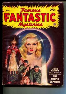 Famous Fantastic Mysteries-Pulp-8/1948-John Taine-Murray Leinster