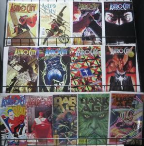 ASTRO CITY SAMPLER! (Image/Homage/DC-Vertigo) 13 books- F or Better Busiek!Ross!