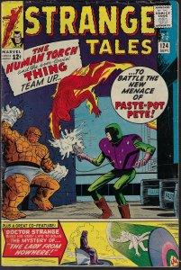 Strange Tales #124 (Marvel, 1964) VG- to VG