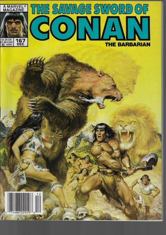 Savage Sword of Conan #167 (Marvel, 1989)