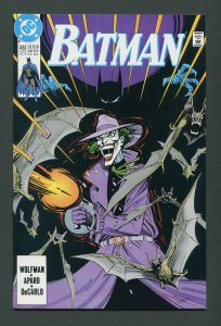 Batman #451 / 9.4 NM  (Joker)  July 1990