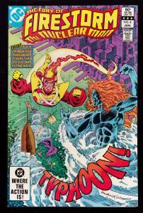 Fury of Firestorm #8 (2nd Series, 1982)   9.0 VF/NM