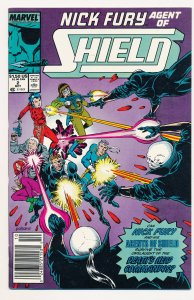 Nick Fury Agent of SHIELD (1989) #2 VF