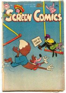 Real Screen Comics #83 1955- Fox & Crow G
