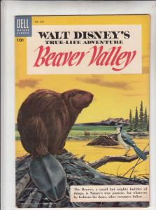 Four Color #625 (Apr-55) VF/NM High-Grade The Beaver
