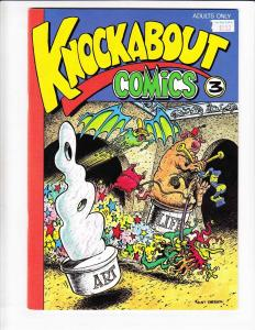 Knockabout Comics #3 VF/NM underground comix - hunt emerson - david hine