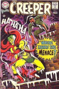 Creeper, Beware The #1 (Jun-68) VF+ High-Grade Creeper