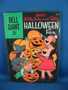 MARGES LITLE LULU TUBBY HALLOWEEN FUN DELL GIANT 23 VG+ 1959