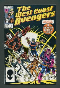 West Coast Avengers #1 / 8.0 VFN  October 1985