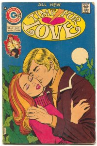 Time For Love #43 1975- Charlton Romance comic- VG